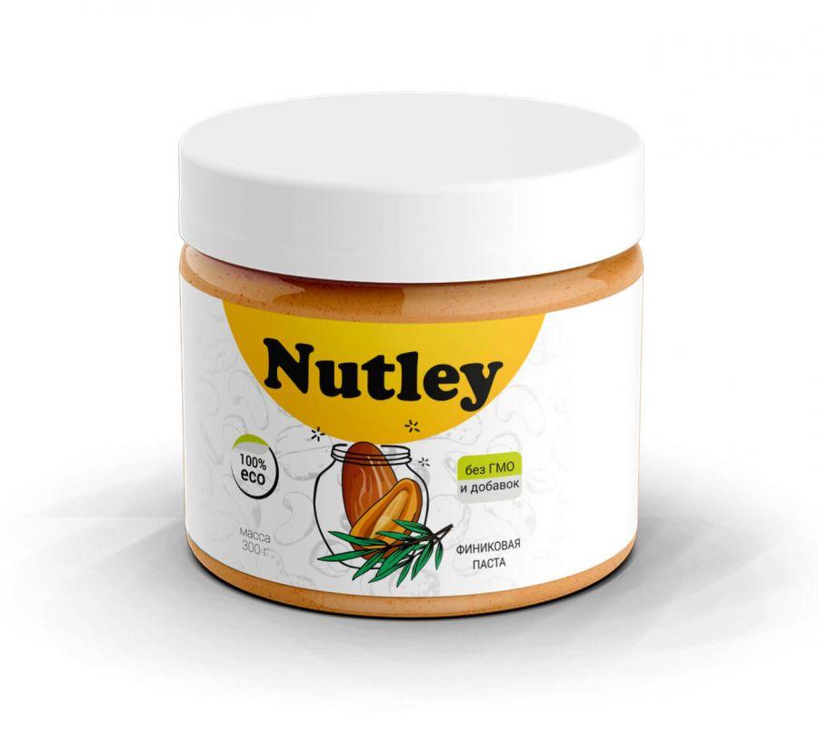 Финиковая паста Nutley, 300 гр.