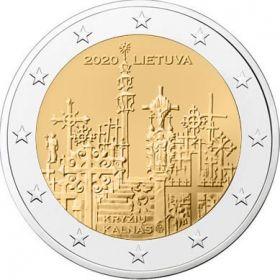 Холм крестов  2 евро  Литва 2020