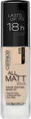 Матирующая тональная основа для лица Catrice All Matt Plus Shine Control Make Up