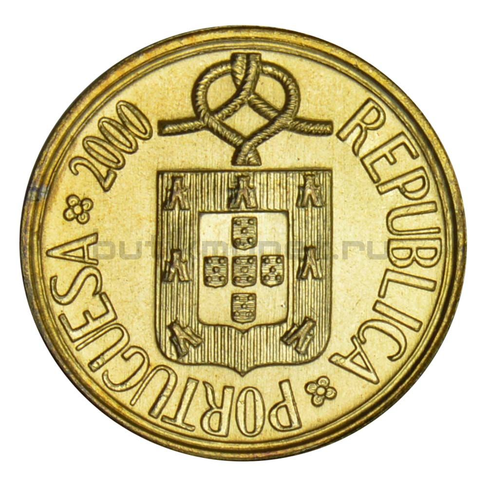 1 эскудо 2000 Португалия