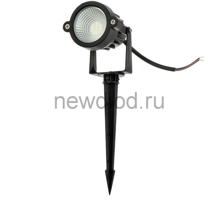 Светильник светодиодный грунтовый, 5 Вт, 450 Лм, IP65, RGB, 220 В