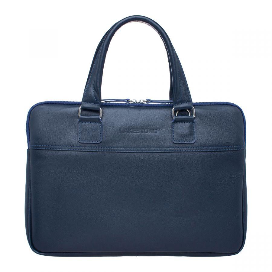 Деловая сумка LAKESTONE для ноутбука Anson Dark Blue
