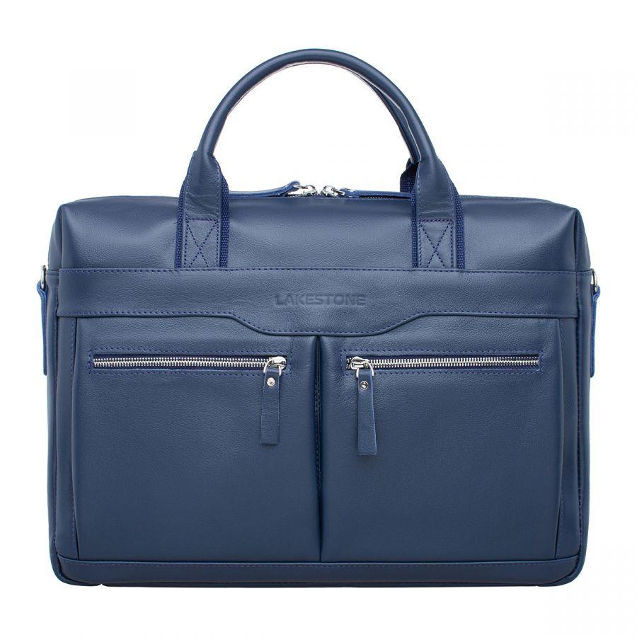 Деловая сумка LAKESTONE Dorset Dark Blue