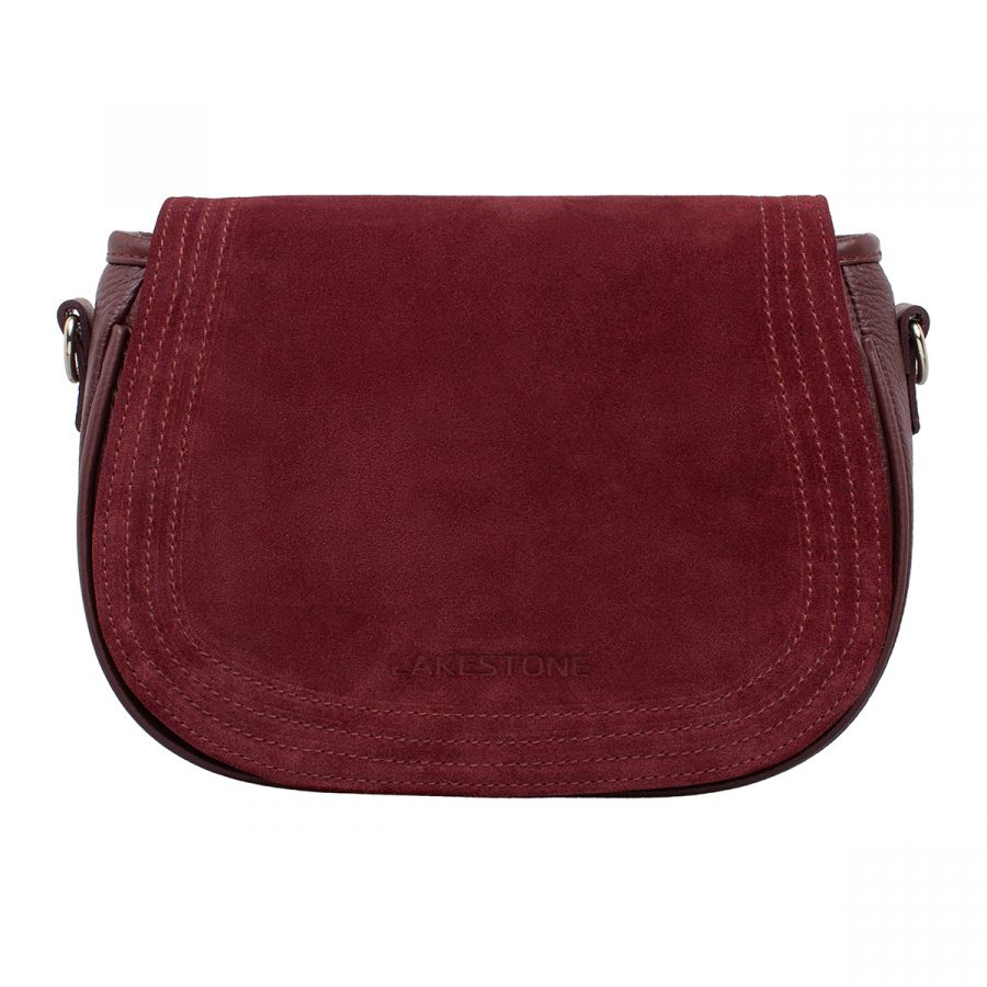 Женская сумка LAKESTONE Cameron Burgundy