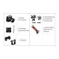Купить FPV камера Foxeer Mini Cat 2 StarLight 0.0001lux с низким уровнем шума и задержки