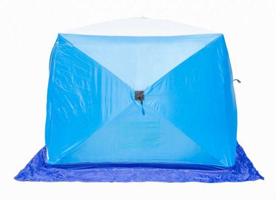 Палатка   зимняя Стэк КУБ 2 трехслойная LONG 210*180*175
