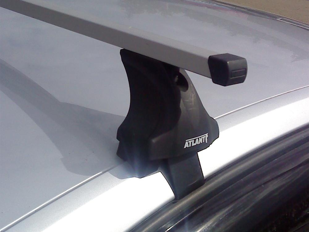 Багажник на крышу Volkswagen Jetta A7 2018-..., Атлант, прямоугольные дуги