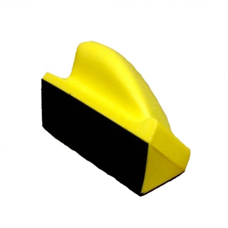 TOR Шлифок малый полужесткий с угловой основой 120х70 мм