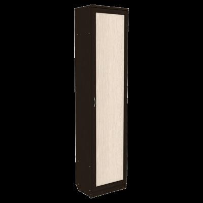 Шкаф для белья со штангой арт. 107 (венге)