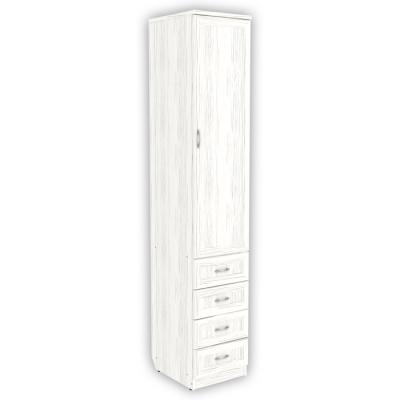 Шкаф для белья с ящиками арт. 104 (арктика)