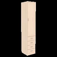 Шкаф для белья с ящиками арт. 104 в цвете дуб молочный