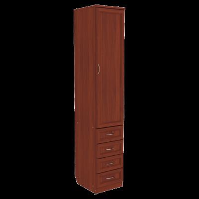 Шкаф для белья с ящиками арт. 104 (итальянский орех)