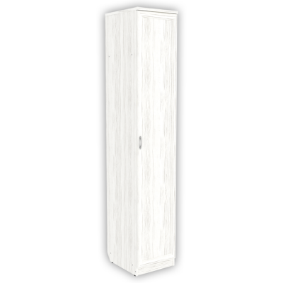 Шкаф для белья со штангой и полками арт. 105 (арктика)