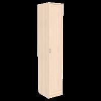 Шкаф для белья со штангой и полками арт. 105 в цвете дуб молочный