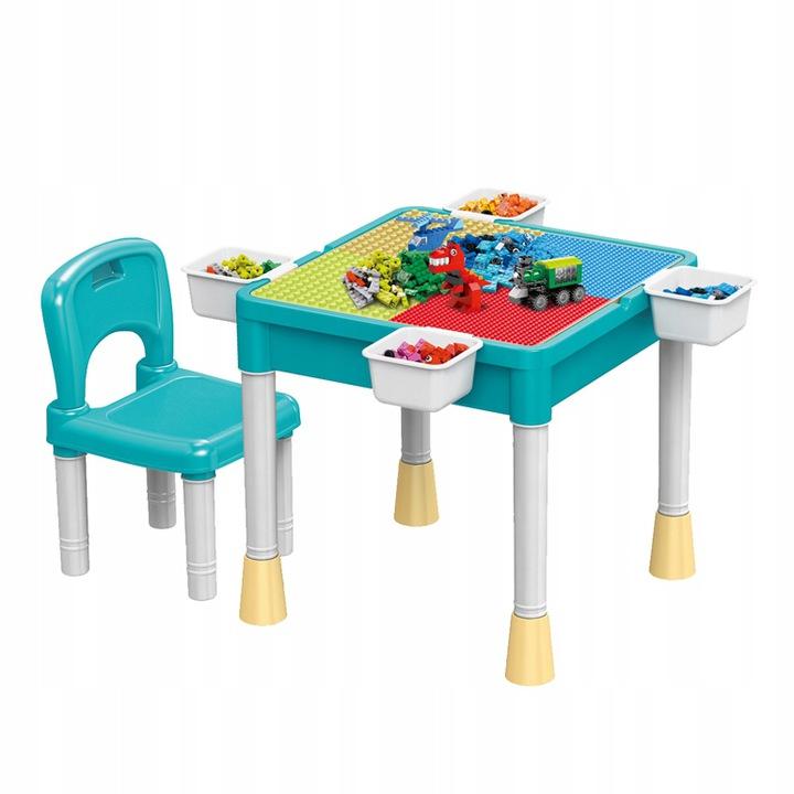 Стол + стул для блоков Lego набор 8569