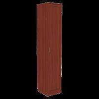 Шкаф для белья со штангой и полками арт. 105 в цвете итальянский орех