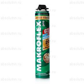 Профессиональная монтажная пена «Makroflex» всесезонная. - 65 л.