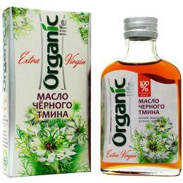 Масло черного тмина «Organic life» 100%, 100мл