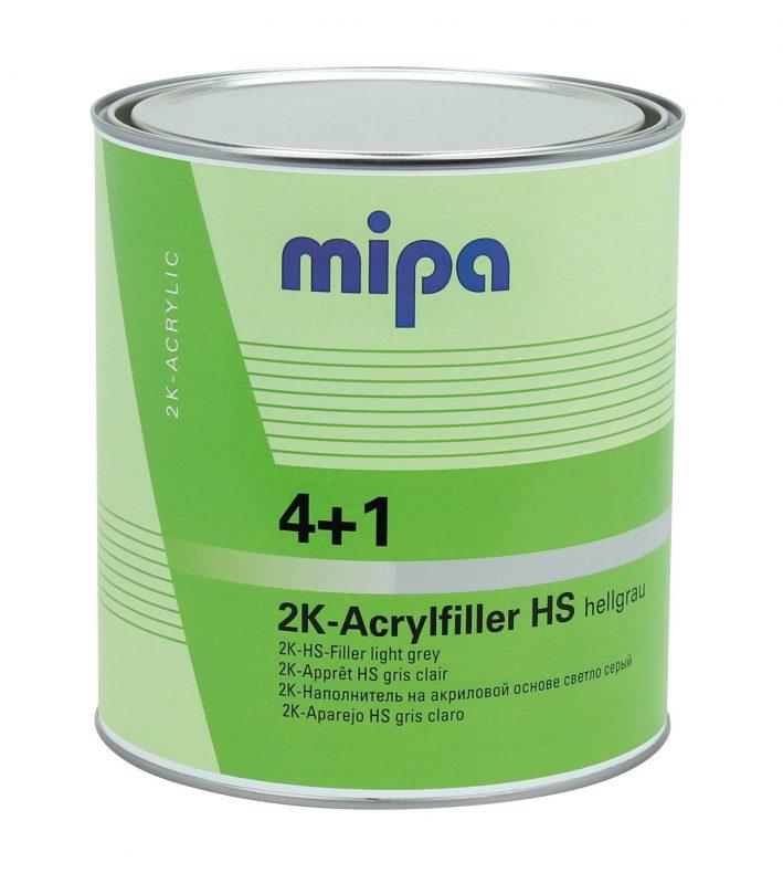 Mipa Cветло-серый  Грунт наполнитель 4+1, HS + отвердитель Н5