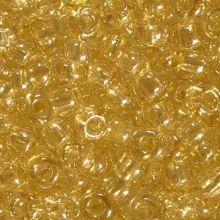 Бисер чешский 48013 желтый прозрачный блестящий Preciosa 1 сорт