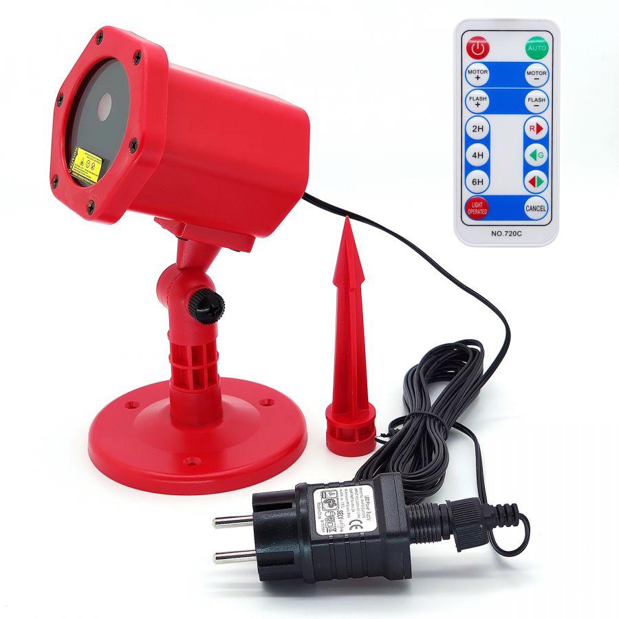 Огонек OG-LDS08 Красная световая установка