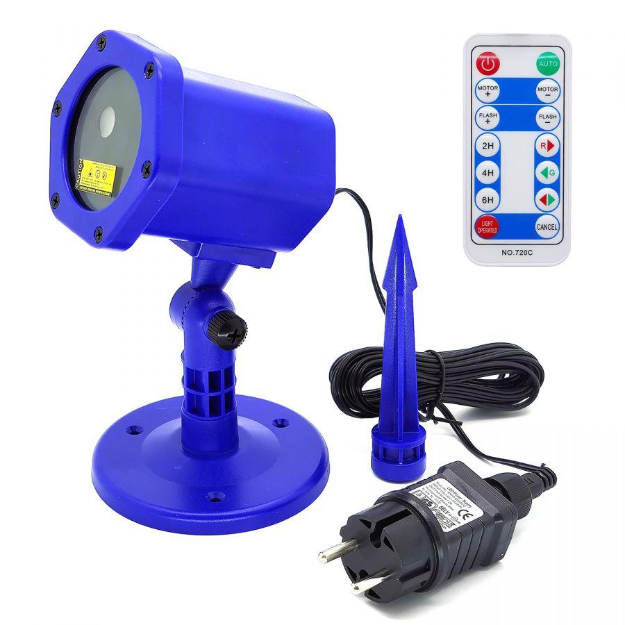 Огонек OG-LDS08 Синяя световая установка