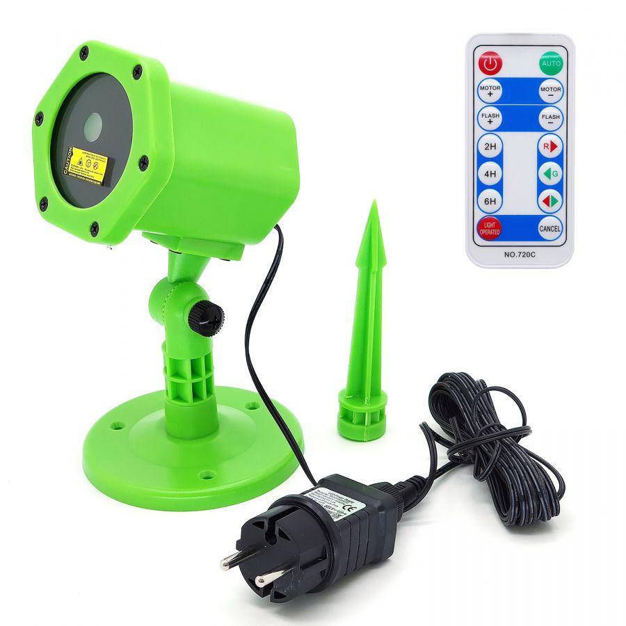 Огонек OG-LDS08 Зеленая световая установка