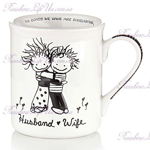 """Чашка муж и жена """"Марси Enesco"""""""