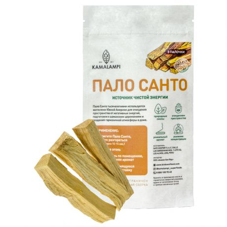 Благовония Пало Санто 3 палочки