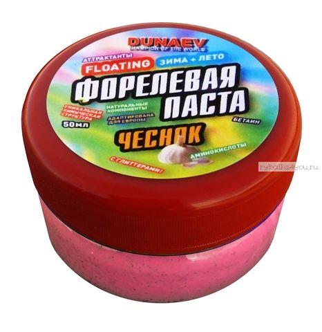 Паста Dunaev 50мл Форель Чеснок Красная