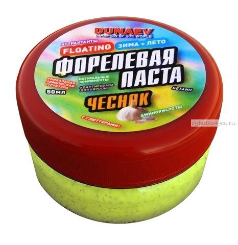 Паста Dunaev 50мл Форель Чеснок Лайм