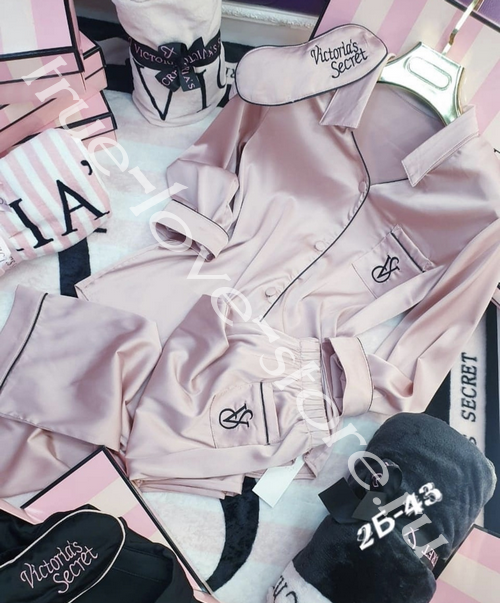 720119- Цена за 1 шт. Пижама двойка Victoria'S Secret (+маска для сна)