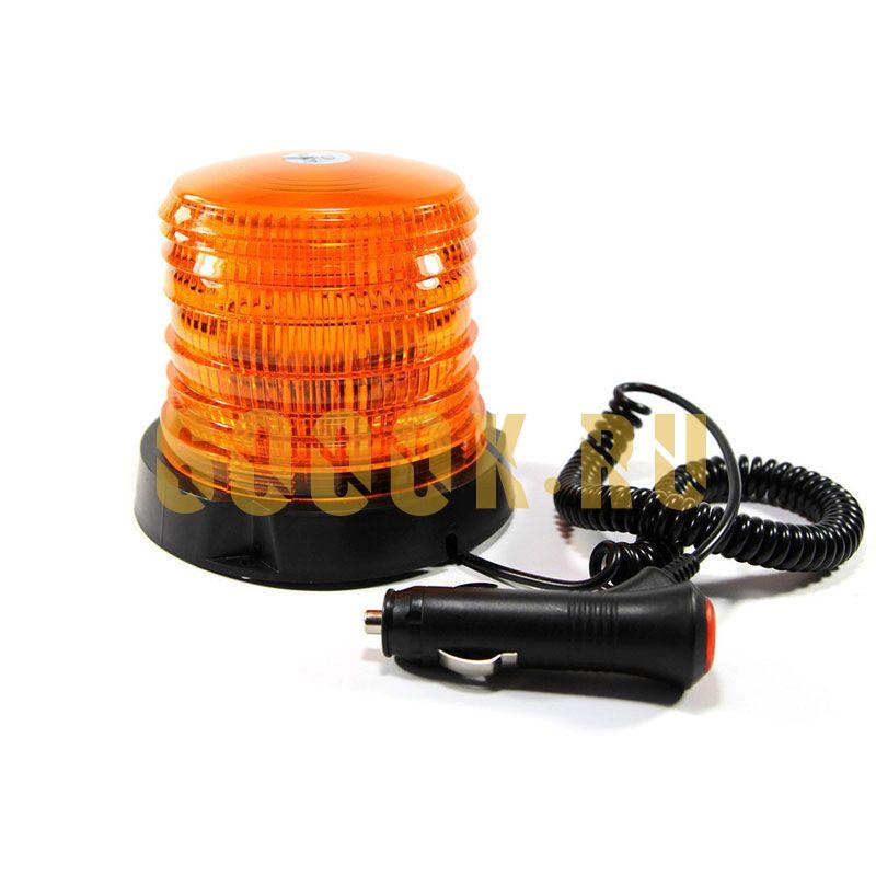 Маяк проблесковый 30 ватт Pro 30 LED Amber 12-24 вольт