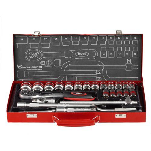 Набор торцевых головок 24 предмета RH-2644 RONIX