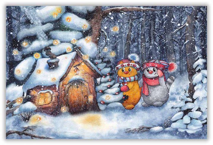 Сказки зимнего леса