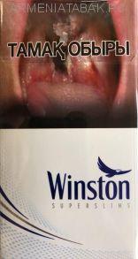 (163)Winston SS Blue (Оригинал) КЗ