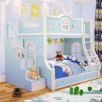 Кровать двухъярусная домик Принцесса Fantasy №IR03
