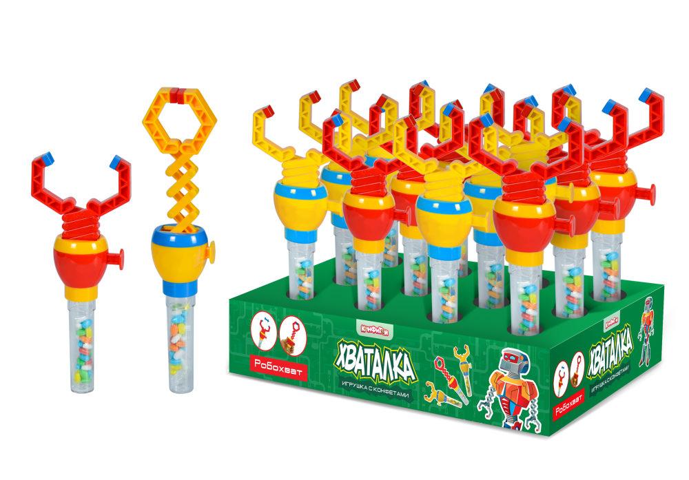 ХВАТАЛКА Робохват игрушка с конфетами