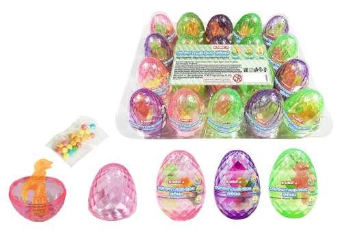 ХРУСТАЛЬНОЕ ЯЙЦО светящаяся игрушка с конфетами