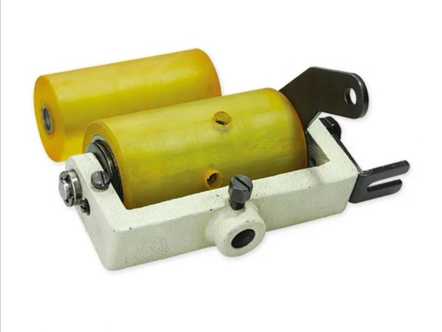 Задний пуллер (гладкий, силикон) 1412P для продвижения материала на поясную машину (SIRUBA VC008, KANSAI 1412)