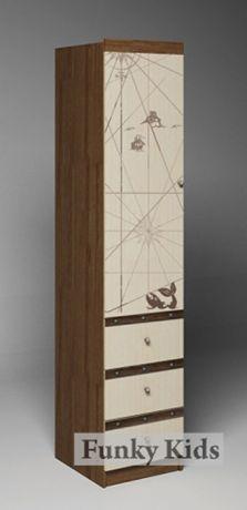 Пенал с выдвижными ящиками Пираты ПР-04