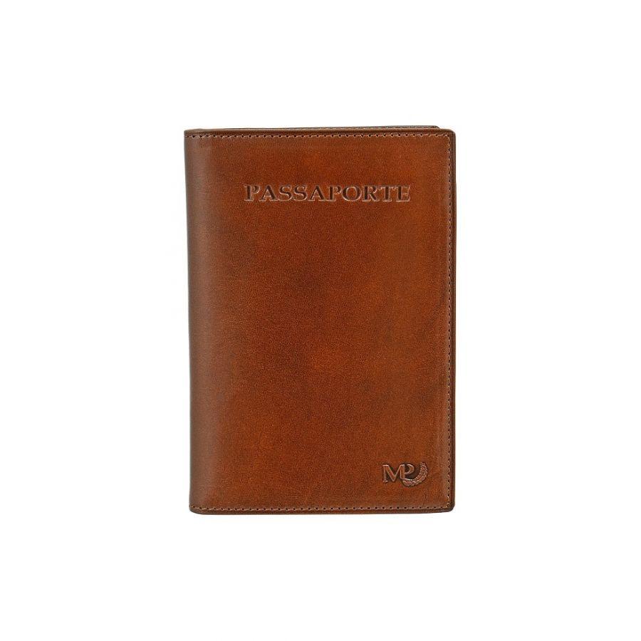 Обложка для документов с RFID защитой Marta Ponti B120258R Cognac