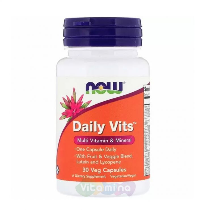 Daily Vits (Дейли витс) Витамины и Минералы, 30 капс