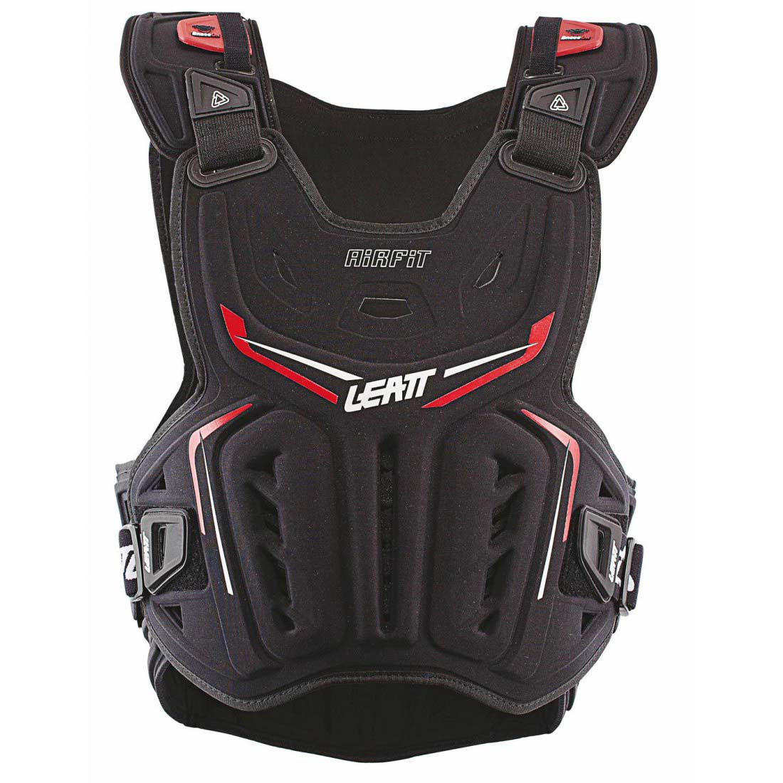 Leatt Chest Protector 3DF AirFit Black/Red защитный жилет
