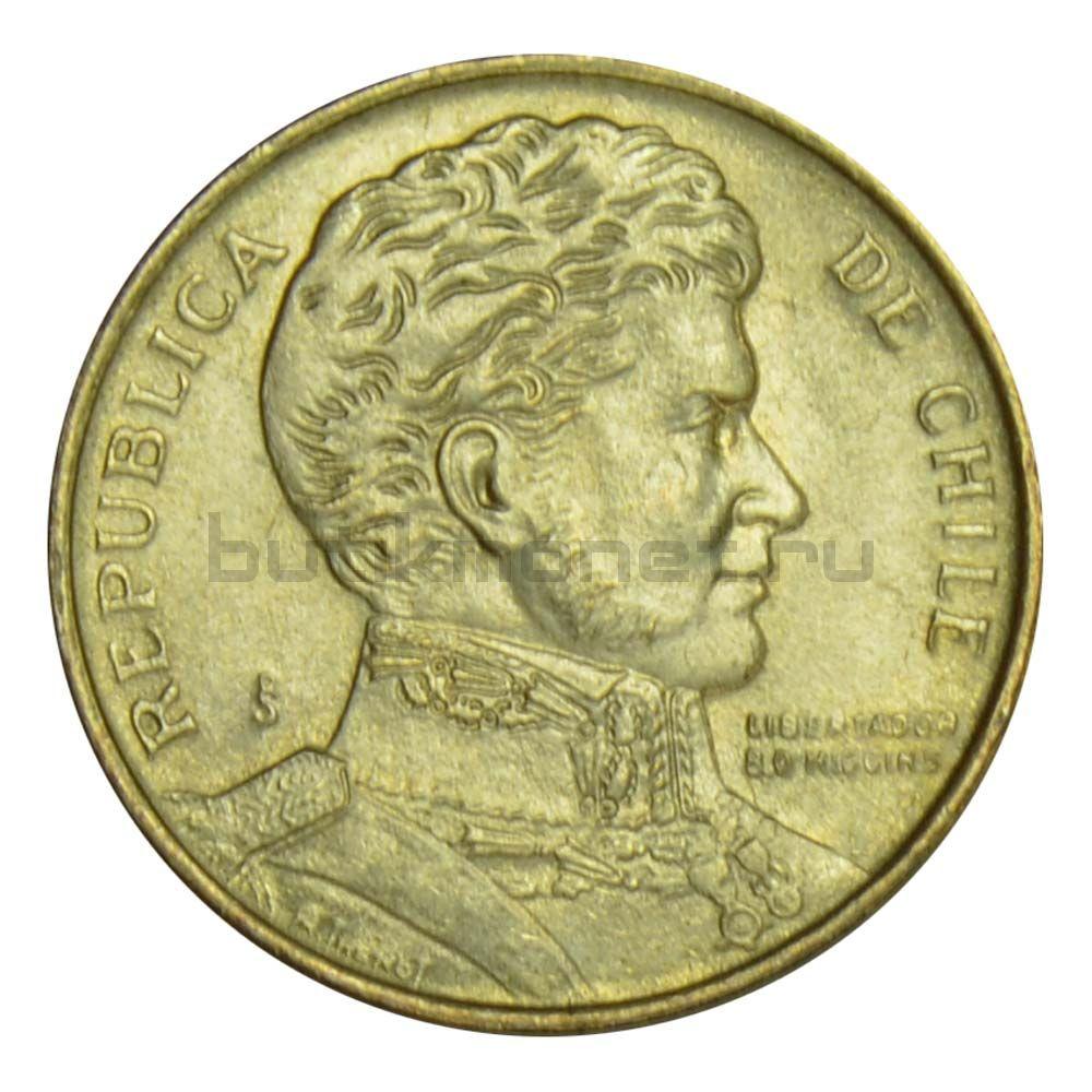1 песо 1990 Чили