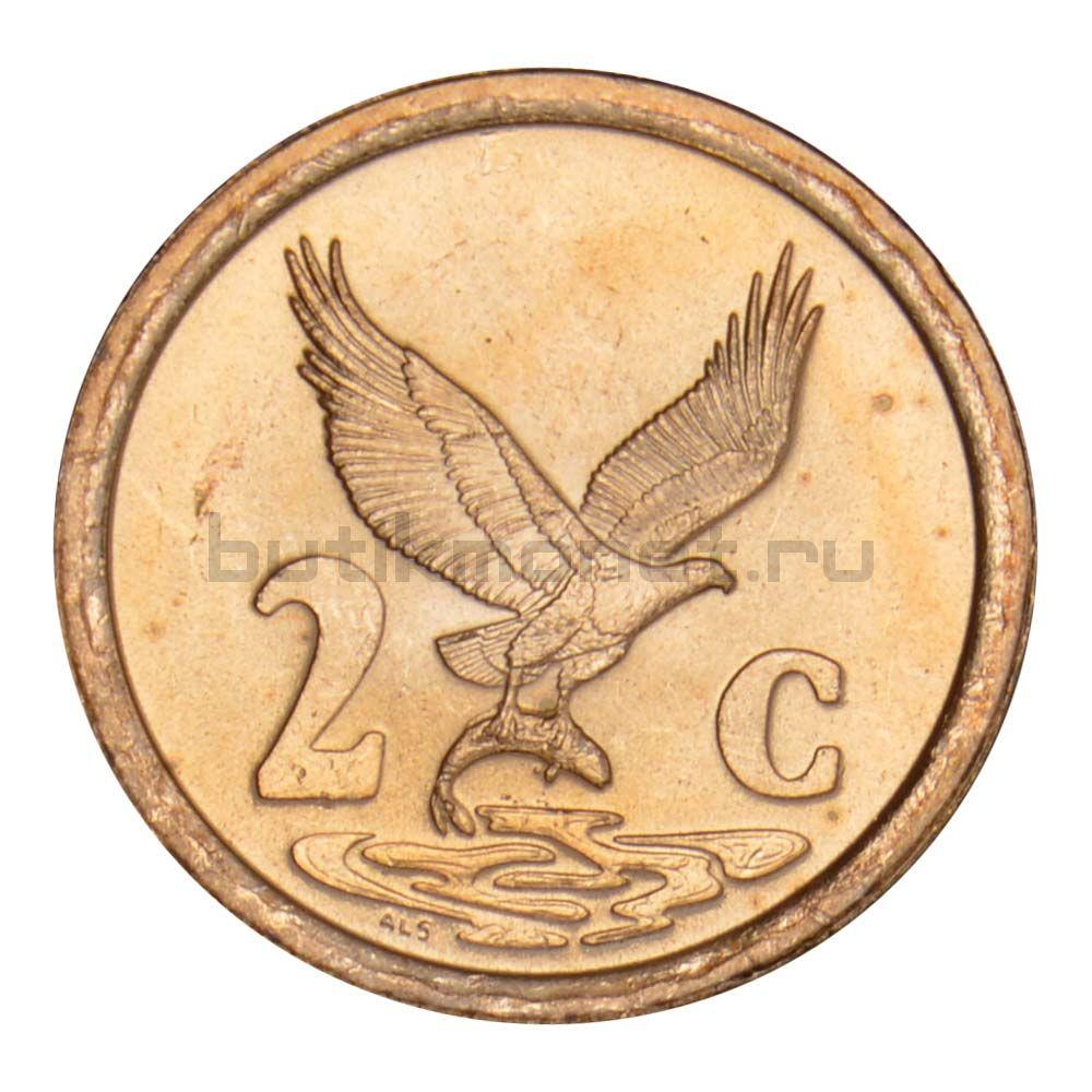 2 цента 1997 ЮАР