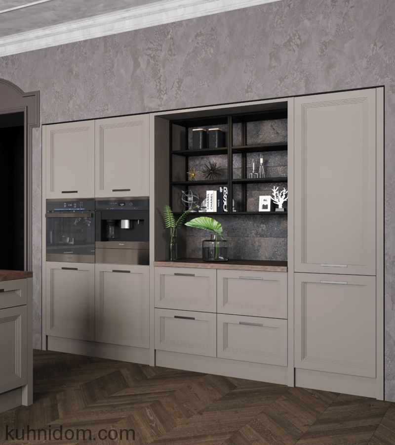 Кухня Fabiana (Фабиана) с колонками