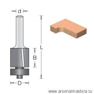 Концевая обгонная фреза с наклонной режущей кромкой DIMAR 19,1 x 50,8 x 108 x 12 Z2 1013029