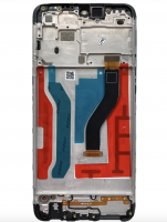 LCD (Дисплей) Samsung A107F Galaxy A10s (в сборе с тачскрином) (в раме) (black) Оригинал