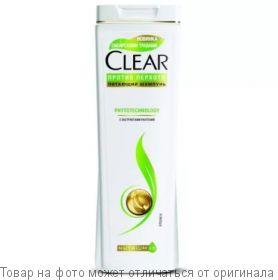 CLEAR.Шампунь Фитотехнология против перхоти 400мл (жен), шт